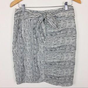 HYFVE stripe skirt with front tie!